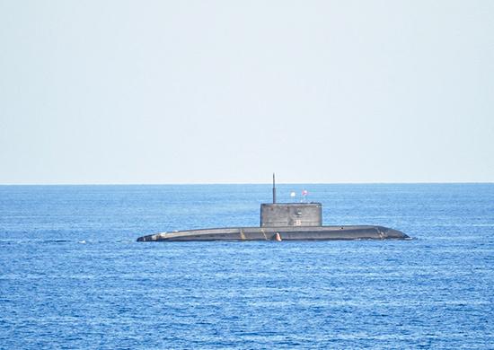 новая подводная лодка для черноморского флота