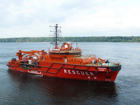 Sar spasatel karev completes sea trials photo for Bureau karev
