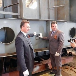 Sosnovka Shipyard lays down two buoy-laying vessels of project BLV04 for ... - PortNews IAA