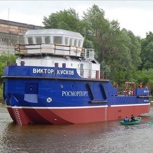 Sosnovka Shipyard launches lead vessel of Project BLV04, Viktor Kuskov, built for FSUE Rosmorport (photo) - PortNews IAA