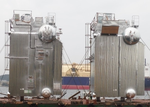 MHI-MME delivers its regas boiler for FSRU developed by Hoegh